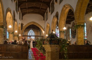 Swalcliffe Church Wedding
