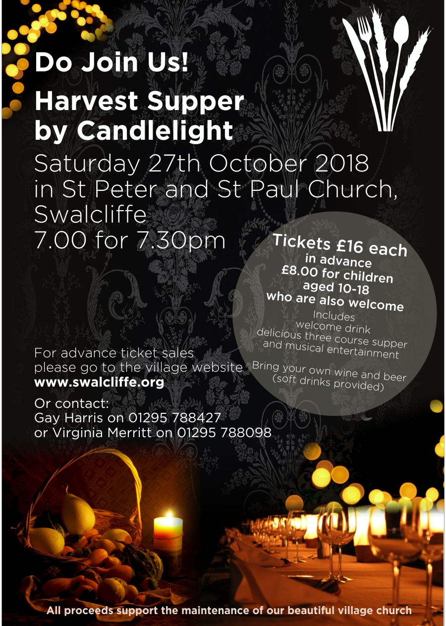 Harvest Supper 2018 Poster