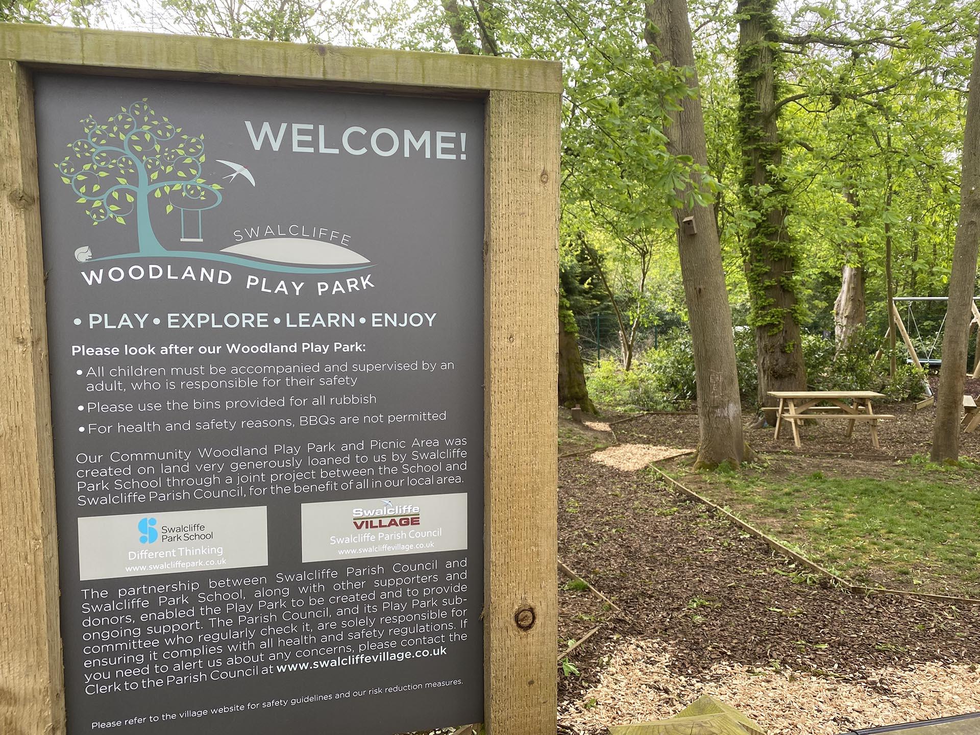 Swalcliffe Woodland playpark